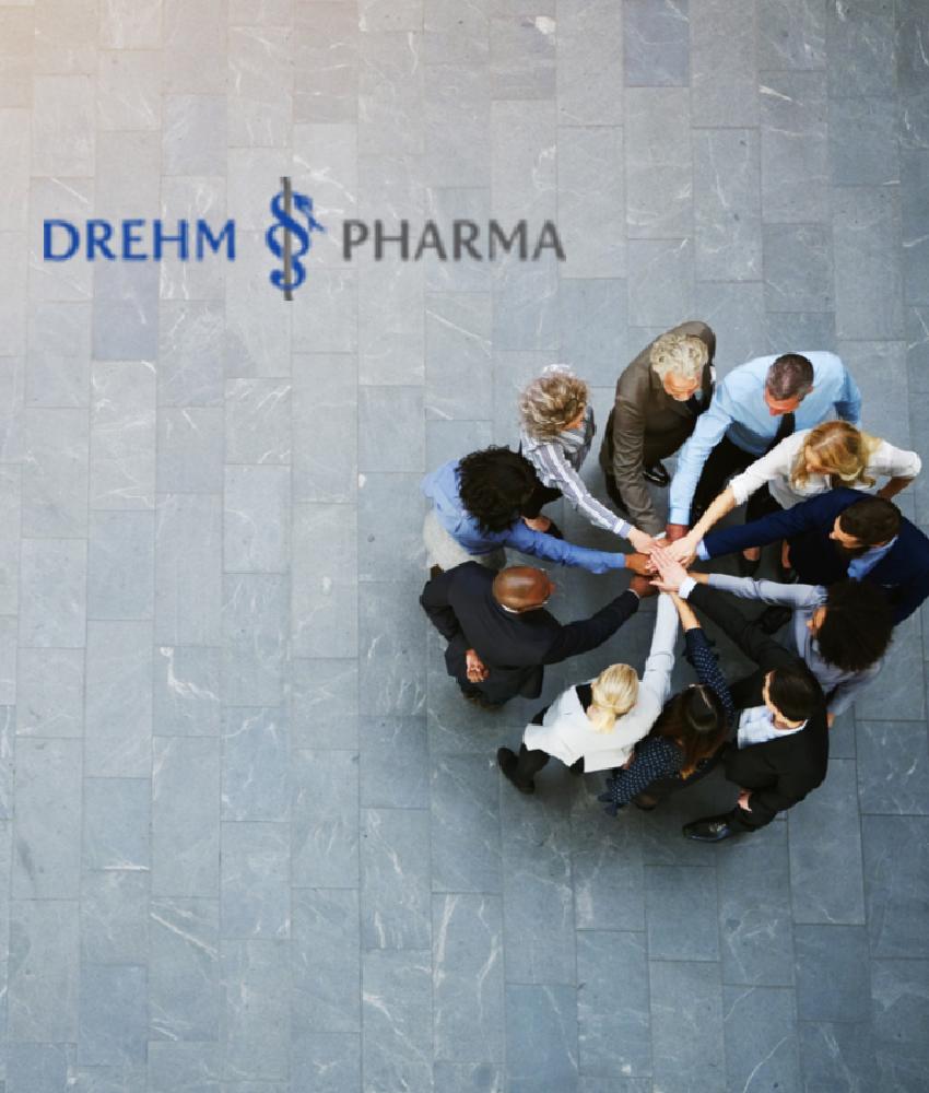 Team der Drehm Pharma Österreich